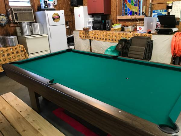 Used 8 Brunswick Pool Table At Everything Billiards Greensboro >> Solo Garner Brunswick Pool Table 35