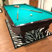 Pool table Green Felt